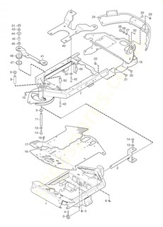 Frame spare parts
