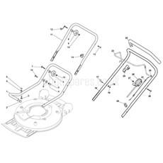 Stiga Spare Parts for MULTICLIP 50 (ST45 140cc OHV