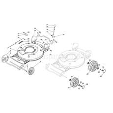 Stiga Spare Parts for MULTICLIP PRO 50 SVAN (H160