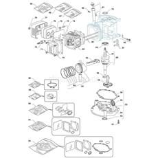 Stiga Spare Parts for MULTICLIP 50 (SA45 140cc OHV