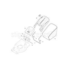 Stiga Spare Parts for COMBI 55 SQ 294556848 2017 model