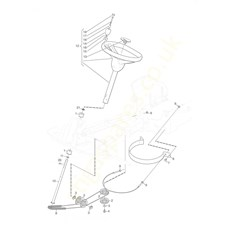 Steering spare parts