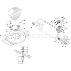 Stiga Spare Parts for MULTICLIP PRO 50 S SVAN (H160
