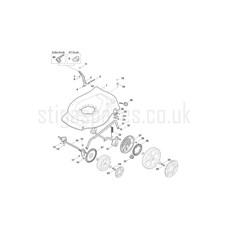 Splitter nya Stiga Spare Parts for COMBI 53 SEQ 299536548 2017 model BJ-28