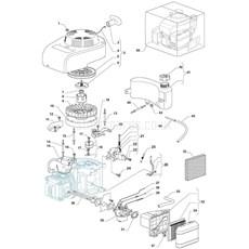 Stiga Spare Parts for MULTICLIP 50S (ST45 140cc OHV