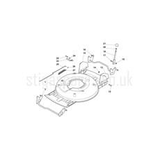 Stiga Spare Parts for MULTICLIP PRO 50 S 291502038 2017 model