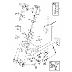 Stiga Spare Parts for PARK 520 DP 2014 (13-6318-31) 2014 model