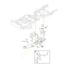 Stiga Spare Parts for Stiga Park 740 PWX 2F6230621 2016 model