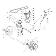Stiga Spare Parts for MULTICLIP PRO 50 4S INOX SVAN