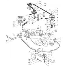 Stiga Spare Parts for 2T0520281/11 ESTATE TORNADO 14 (B&S