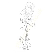 Seat spare parts