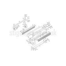 Stiga Spare Parts for FLAIL MOWER 120 CM TITAN 13-7967-11 2016 model