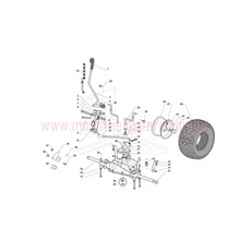 Mountfield Spare Parts for 1538M-SD (2T0530483) 2016 model