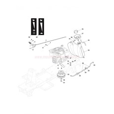 Mountfield Spare Parts for 827SERIES (20130208) 2013 model