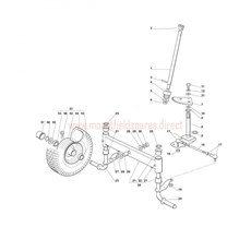 Mountfield Spare Parts for 1228M-1228H 2008 model
