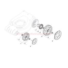 Wheels and Hub Cover spare parts