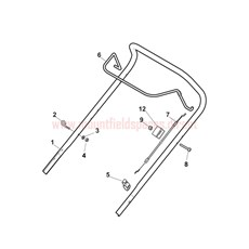 Handle, Upper Part spare parts
