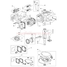 Mountfield Spare Parts for RM55ES 160cc OHV 2012 model