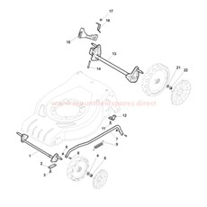 Front & Rear Axles spare parts
