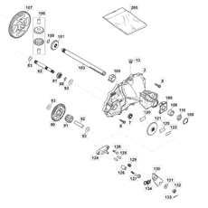 Mountfield Spare Parts for 2040H (2T0951283/M13) 2018 model