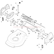 Ass.Y Roller spare parts