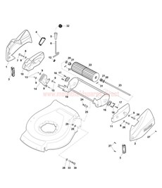 Roller spare parts