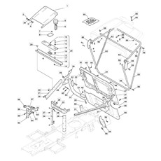 Mountfield Spare Parts for 827M (2T0050483/M16) 2018 model