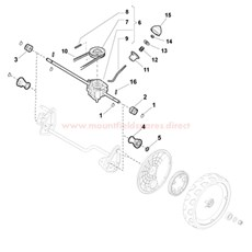 Rear Drive spare parts