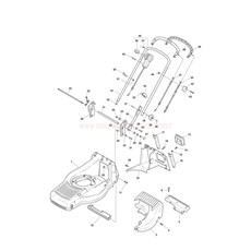 Chassis-Handle, Upper Part spare parts