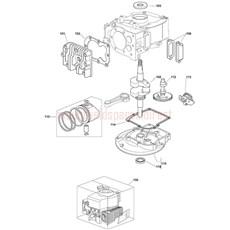 Mountfield Spare Parts for V35 150cc 2011 model