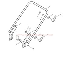 Handle, Lower Part (LUX Version) spare parts