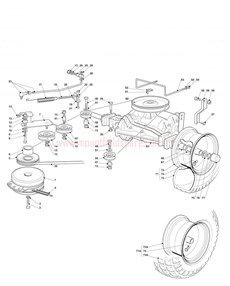 Mountfield Spare Parts for 1235M_1435H_1436H_14H36H_1636M