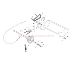 Gearbox & Drive Assy. spare parts