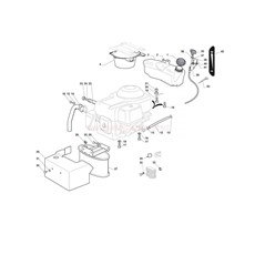 Mountfield Spare Parts for 1430H-3000SH (20120201) 2012 model
