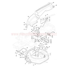 Mountfield Spare Parts for 827M (2T0050483) 2016 model