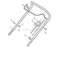Handle, Upper Part spare parts