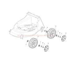 Wheels spare parts