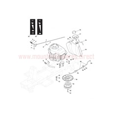 Mountfield Spare Parts for 827H (2T0070483) 2016 model