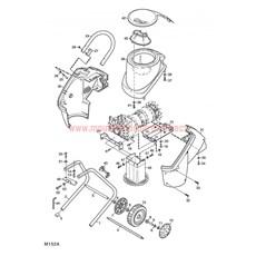 Mountfield Spare Parts For Quiet Shredder 2005 Model