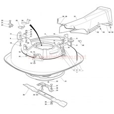 Mountfield Spare Parts for 725M (20100406) 2007 model