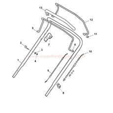 Handle, Upper Part (LUX Version) spare parts