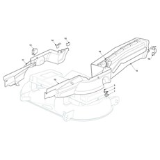 Mountfield Spare Parts for 2040H Twin (2T0951283) 2016 model