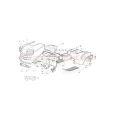 Mountfield Spare Parts for T38M-SD (2T3244436-BQ) 2016 model