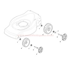 Wheels and bushes spare parts