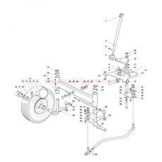 Mountfield Spare Parts for T35M-1436M-1436H 2008 model