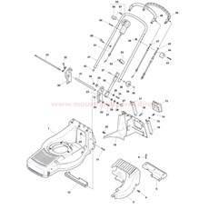 Deck And Height Adjusting spare parts
