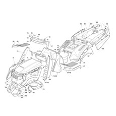Mountfield Spare Parts for 2248H (2T1310283) 2016 model