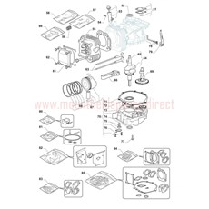 Mountfield Spare Parts for 1538H-SD (2T0630483) 2016 model