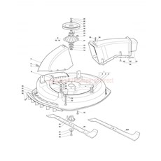 Mountfield Spare Parts for 1228M_1228H (20100406) 2007 model