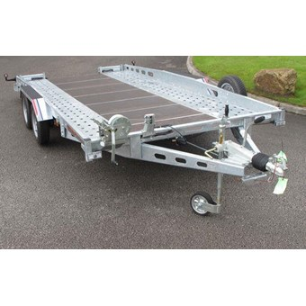 16'1x6'4 Fixed Bed Car Transporter Trailer No CT27167